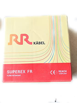 Picture of RR Kabel Superex-FR 2.5 Sq mm Red PVC Insulated Cable, Length: 90 m