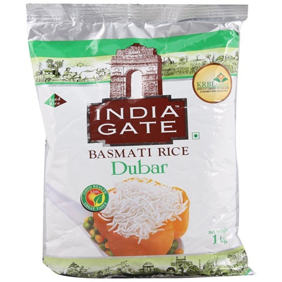 Picture of India Gate Basmati Rice Dubar, 1kg
