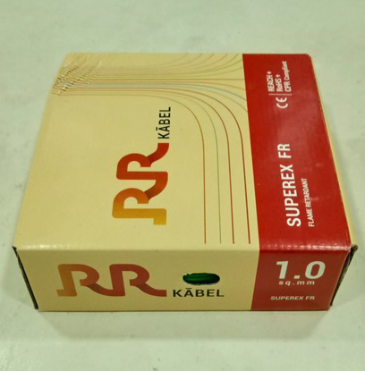 Picture of RR Kabel Superex-FR 1 Sq mm Blue PVC Insulated Cable, Length: 90 m